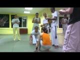 Тренировка по капоэйра в Доме Укрепления Духа