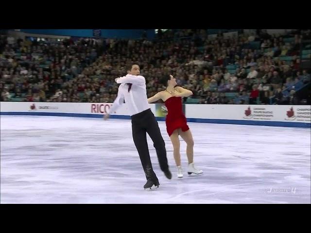 Tessa Virtue Scott Moir. FD. Canadian Figure Skating Championships 2012