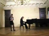 Концерт класса кларнета  малый зал КГК 2.10.2012г. Казань