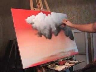 Как просто рисовать облака