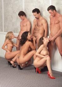 обожаю групповой секс