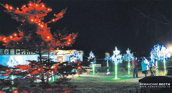 Неманские вести: Новогодние огни на радость всем