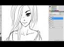 Как рисовать анимеманга. Урок №1