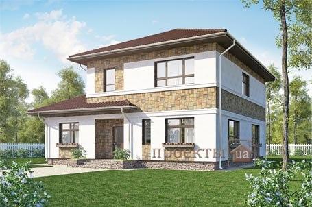 проект дома 9х9 2 этажа