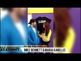 Mike Bennett and Maria Kanellis visit the New England Pro Wrestling Academy