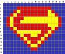 """Схемы плетения фенечки со значкомСхема фенечки  """"Вечная классика """". что оно Схемы фенечек со знаком Супермена, Адидаса..."""