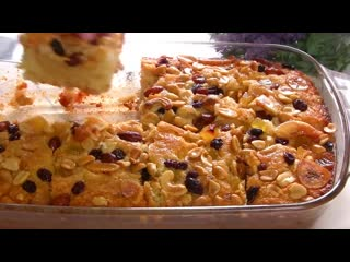 Известная арабская сладость-вкуснейший  нежный пирог на манке с пропиткой!