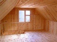 К вышесказанному стоит добавить, что некоторые владельцы мансард превратили это помещение в небольшой спортивный зал...