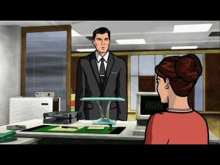 Спецагент Арчер / Archer /  Сезон 1 /  Серия 1 из 10 / (2009-2010)  WEB-DL 720p