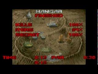 [Walkthrough HD] Doom: E1M1 - Hangar (100% Secrets, Ultra-Violence)
