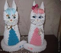 Влюбленная парочка Кошечка и котик.
