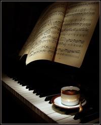 """Иоганн Штраус. я была не права!   """"Для вдохновения мне нужны только раскрытый рояль, тишина и чашечка кофе."""