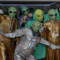 Ночная вечеринка в честь Дня Космонавтики