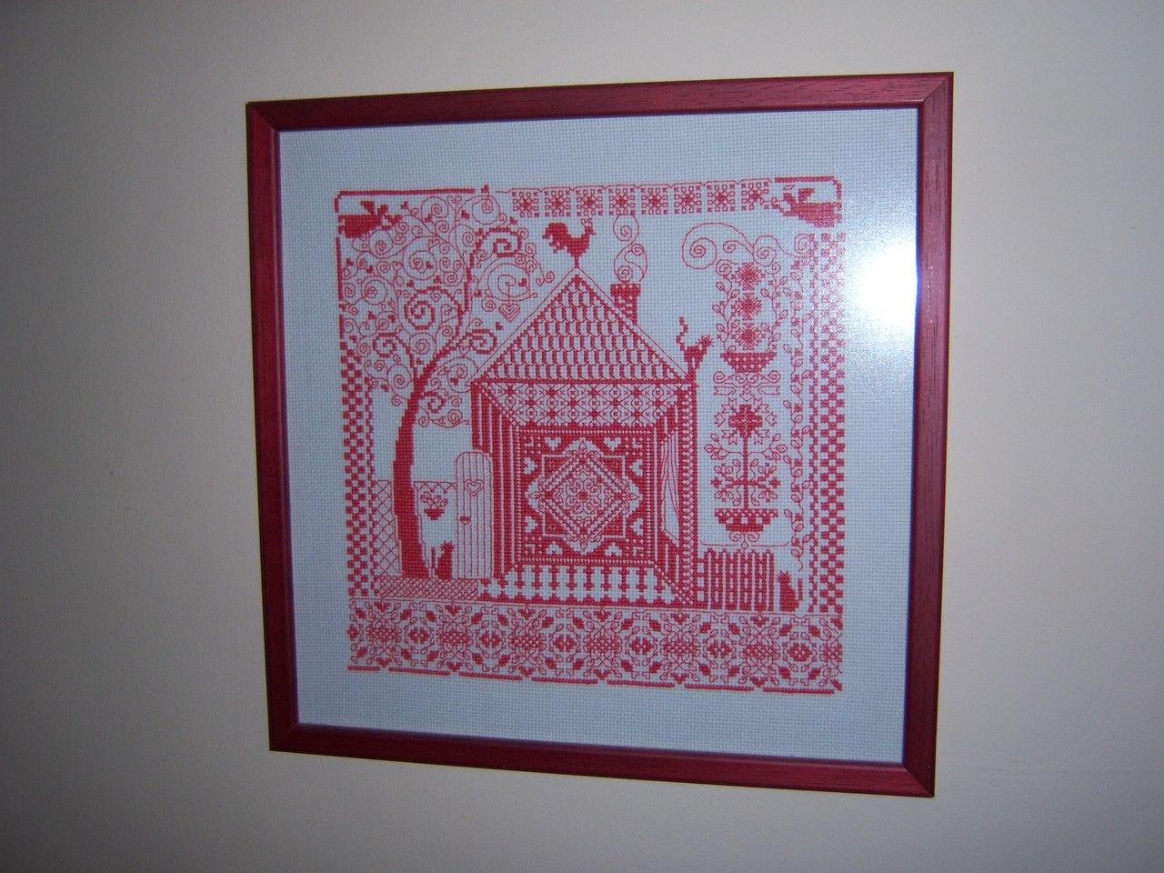 Оберег домашнего очага - Каталог схем для вышивки крестом 4
