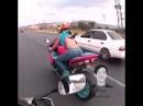 Хочу себе такую жену, crazy wife, Crazy Motorbike riders