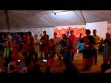 Dance dedicated to Shri Ganesha. Altai-Sahaja Yoga Festival 2014 (Russia)