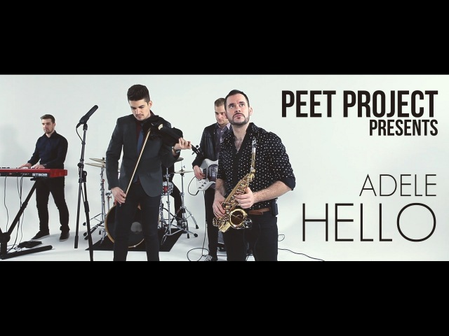Adele - Hello (Violin Sax cover by Peet Project)