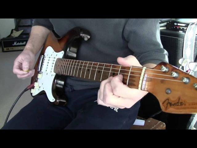 1954 Orig Fender Strat Named BEAULAH www.eddievegas.com Eddie Vegas