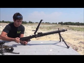MG42 full auto beltfed - Part 1 - Field strip and shooting (Ep24)