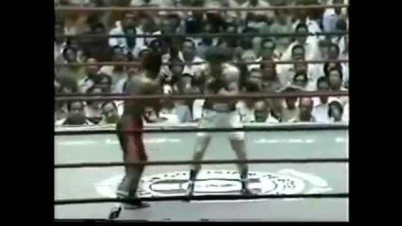 Cecilio Lastra vs Eusebio Pedroza