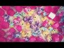 Мой маленький пони- открываем 36 сюрпризов с игрушками! My Little Pony surprise boxes:)