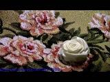 ПРЯМАЯ РОЗА -- ШКОЛА ВЫШИВКИ ЛЕНТАМИ Татьяны Шелиповой How to Make Ribbon Roses