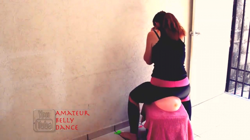 Amateur Belly Dance - Looner Blow To Pop Ride To Pop Sit To Pop Latex Balloon Fetish in Yoga Pants B2P BTP