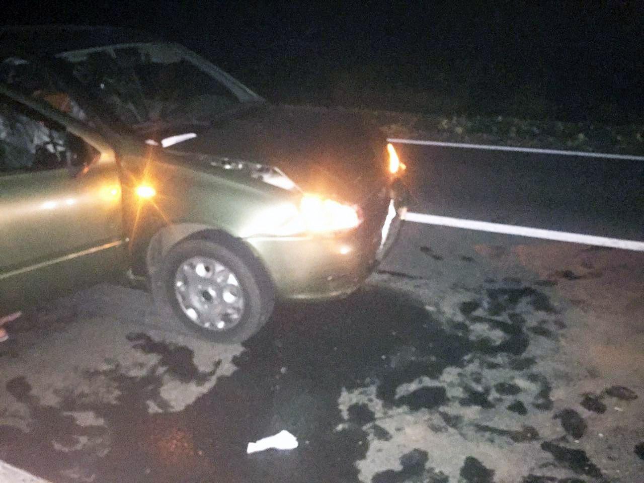 На трассе «Ростов-Таганрог» столкнулись Lada Kalina и «ВАЗ-2110», есть пострадавшая