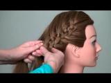 Прическа_ плетение косы из 4-х прядей