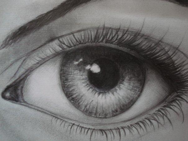 Как рисовать ресницы фото