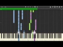 Theatre of tragedy A distance there is Piano tutorial