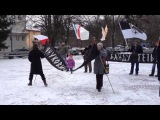 Пикет солидарности с украинским народом (Калининград 26 января 2014 года)