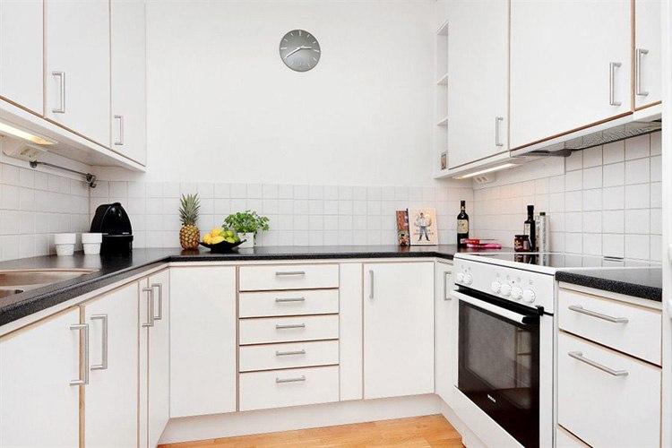 Квартира 35 м в столице Швеции.