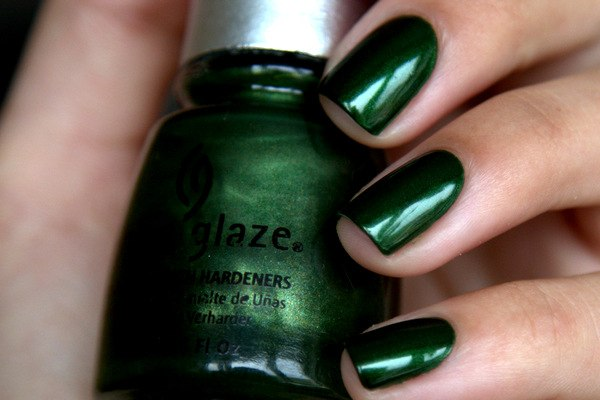 China Glaze Jolly Holly nail polish