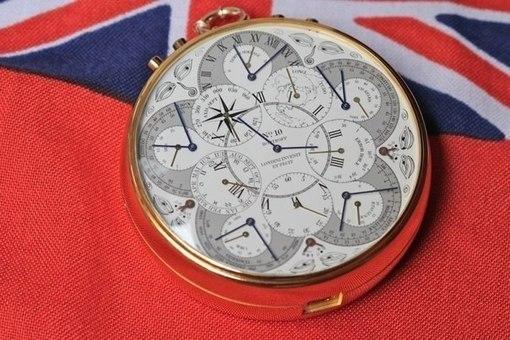 Карманные атомные часы Hoptroff No. 10: пять миллиардов лет без опозданий!