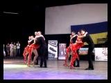 Mambo dance class Kizomba-show