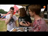 Bastille interview from Pinkpop
