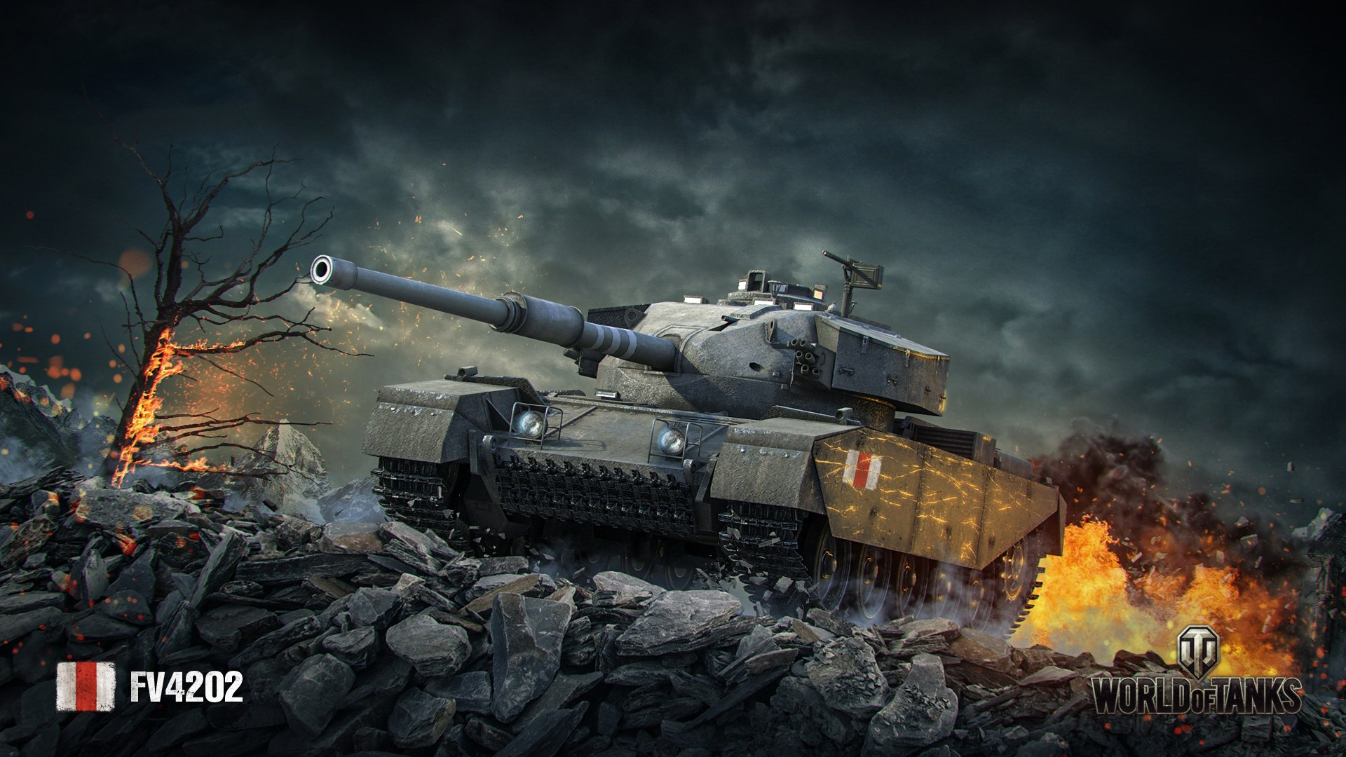 рисунок World of tanks FV4202