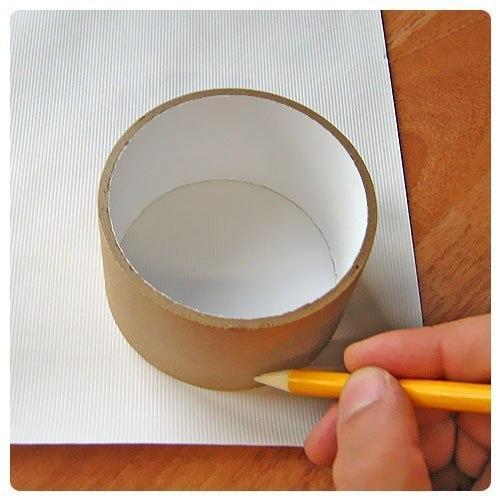 Шкатулка из картона и ткани своими руками