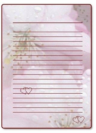 Красивые листы для писем своими руками - Vzmorie Adler