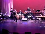 Steve Pouchie and Chembo Corniel performing 'Philadelphia Mambo' and 'Take Five'