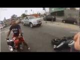 Ограбление по-бразильски - Brazilian motorcycle robbery