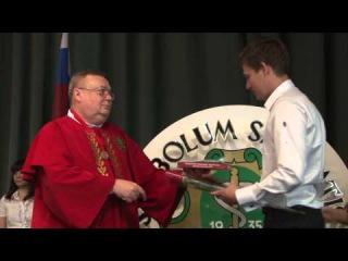 Вручение красных дипломов выпускникам ВолгГМУ 2014 г.