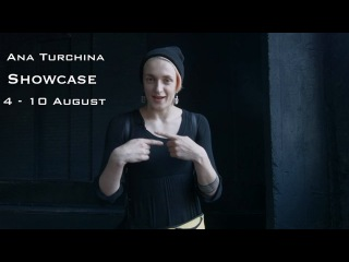 4-10 August - SHOWCASE by Ana Turchina - Dance Centre Myway
