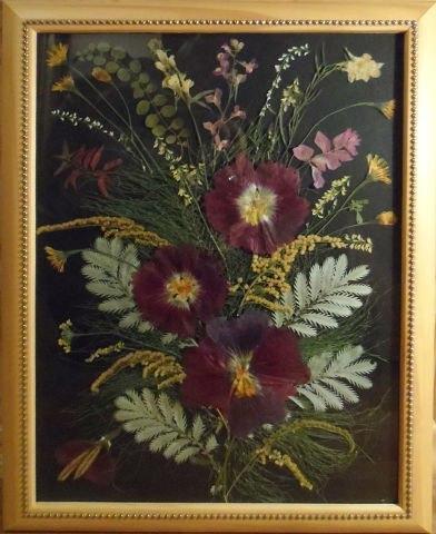 Картины из сухоцветов своими руками фото пошагово 79