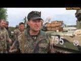 Блокпост в Славянске: Силовики показали, как профессионально стреляют снайперы-террористы