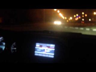 Моё первое вождение - Mercedes-Benz C180 (30.10.2014) - часть 3