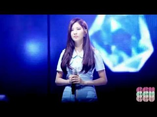 140315 Seohyun Baby steps fancam Wapop 서현 베이비스텝 직캠 와팝
