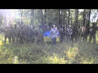 Украина, Харьков укр террористы обещают уничтожать всех кто не кричит Слава украине