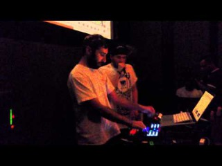 Reeps One and Linden Jay at the NYC Dubspot Ableton User Group 10.14.14